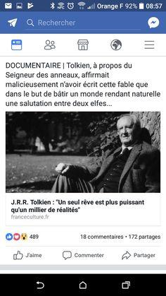 Tolkien 1 rêve plus puissant que 1000 réalités