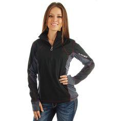 Shop Women's Ariat Black Bryce Pullover Jacket