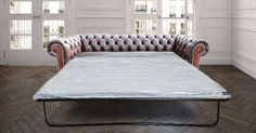 Make a statement with your Antique Rust leather sofa bed from DesignerSofas4u. We sell the largest collection of Chesterfield furniture in the UK. Free fabric swatches