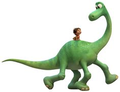 The Good Dinosaur PNG Clip Art Image