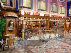 Cafe Promenade on the Freedom of the Seas