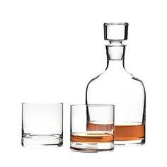 Leonardo-3tlg-Whiskyset-Ambrogio-Whiskykaraffe-Whiskybecherbecher-Whiskyglas-G