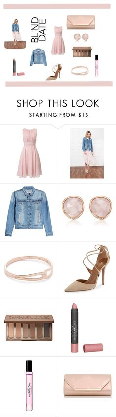 """blind date"" by brenda-sydnor ❤ liked on Polyvore featuring Phase Eight, Anine Bing, AMI, Monica Vinader, Kate Spade, Aquazzura, Urban Decay, Isadora, Byredo and Dorothy Perkins"