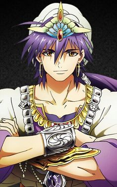 Lady-killer of the Seven Seas ♡ Ma bae Sinbad. He's turning into my biggest anime/ manga crush ever... help