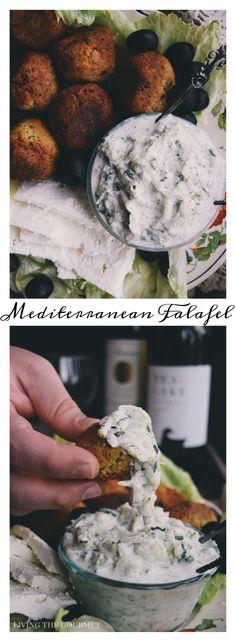 Mediterranean Falafel & Summer Wine Selections - Living The Gourmet