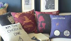 Harry Potter pillow covers,