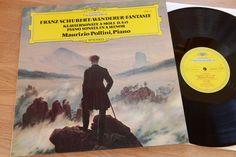 SCHUBERT POLLINI piano sonata Wanderer-Fantasie LP DGG 2530 473 nm-mint
