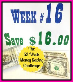 The 52 Week Money Saving Challenge - the easiest way I know to save over a thousand bucks cash in my pocket this year!
