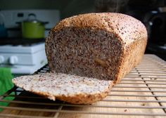 red quinoa bread - Substitute GF flour for the required amounts.