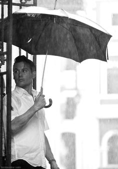 even in the rain......