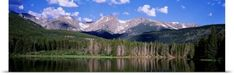Poster Print Wall Art Print entitled Sprague Lake Rocky Mountain National Park CO, None