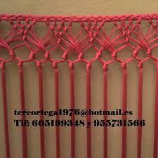 Resultado de imagen de ENREJADO MANTONES Flamenco Costume, Crochet Top, Knots, Tassels, Crochet Patterns, Weaving, Knitting, Crafts, Andalucia