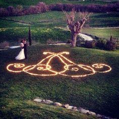 Swirling Votive Candles Light #monogram #weddingintuscany #tuscany #weddingdecor #weddingflowers #flowers #votives #dinner #weddings