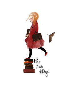 The Book Thief Art Print The Book Thief Homage Fan by mittenbunny, $15.00