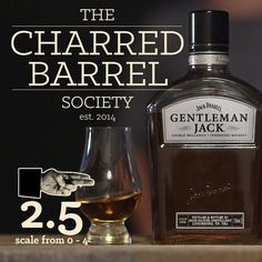 From blind tasting to filming, this review of #gentlemanjack, a product of the @jackdaniels_us was extremely fun.  With all the moaning and groaning that took place, it still scored a 2.4 finger rating from The Society, which means that blind-tasted, people enjoyed it.  Watch our review, or for a more in depth take on the drink, view the full written review on our website.