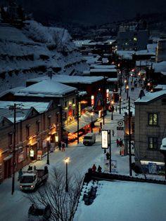 Otaru, a port city on Hokkaido Otaru, Travel Tours, Japan Travel, Hokkaido Winter, Winter In Japan, Snow Japan, Japan Holidays, Unique Buildings, Sapporo