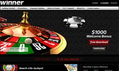 """Winner Casino is one of the most reliable online gambling brands belonging to """"Redfinger Trading Limited"""" company of Cyprus. Winner Casino which is our main sponsor, was established in and managed with full compatibility to the gaming rules and ..."""