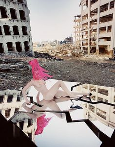 Pink Anarchy - by David LaChapelle