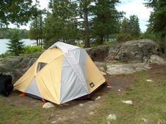 REI Taj 3 tent with rain fly & Taj 3 rain fly vestibule | Backpacking | Pinterest | Rain fly and ...