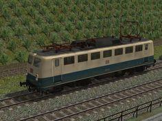 BR 110 Kastenbauform, Doppellampen, ozeanblau-beige, EpV, DBAG