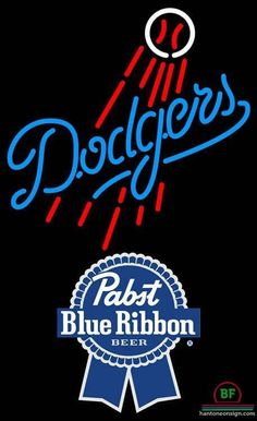 Neon Signs Los Angeles Los Angeles Dodgers Neon Sign  Neon Signs  Lighting  Mlb