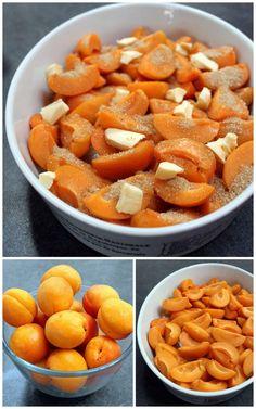 Le crumble abricots & noix de Christophe Michalak