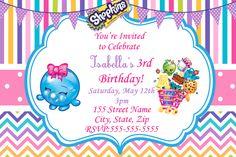 shopkins invitations free - Google Search