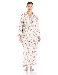 c3b3a2d11c New BedHead Pajamas 2PC Women s Plus Size Classic Knit Pajama Set womens  fashion clothing.