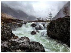 Angry Etive river - Glencoe - Scotland STEPHANE BEGUINOT