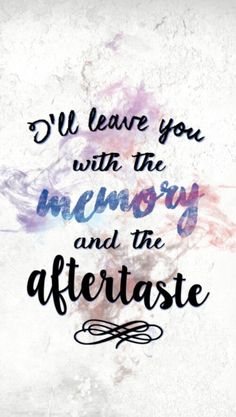 Aftertaste / Shawn Mendes