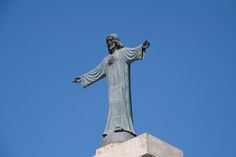 Staute of God in Minorca