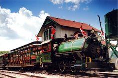 Image of Train at Muskoka Heritage Place - steam train in Huntsville