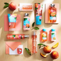 """54.9k Likes, 314 Comments - Bath & Body Works (@bathandbodyworks) on Instagram: """"#NowTrending: Peach!  Treat your body to our prettiest peachy picks!"""""""