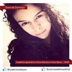 """Suellen Luz é uma artista da Nova MPB, que bebe de diversas fontes, do soul a bossa nova, passando pelo jazz, samba e o rock. No show apresenta as canções de seu primeiro CD """"Na Rua"""" e musicas inéditas de seu novo CD """"Suellenluz-Brazuka"""", acompanhada por sua Banda do Bem: Piruh Batera, Tom - Baixo...<br /><a class=""""more-link"""" href=""""https://catracalivre.com.br/geral/rede/barato/suellenluz-no-sesc-bauru/"""">Continue lendo »</a>"""
