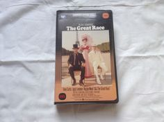 The Great Race VHS Warners Clamshell Case Tony Curtis Natalie Wood Jack Lemmon