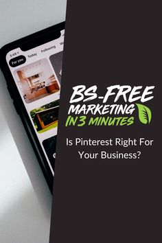 We're giving you the 3-Minute social media marketing run down, BS-Free, to help you decide if Pinterest Advertising is right for your brand.  #Pinterest #PinterestAds #Advertising #DigitalAdvertising #DigitalAds #SocialAds #SocialMediaMarketing #DigitalMarketing #DigitalMarketingAds Social Media Marketing, Digital Marketing, Pinterest Advertising, Free Market, Cards Against Humanity, Ads, Learning, Business, Studying