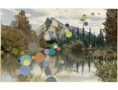 Julie Cockburn | Landscape with Mountain, 2013