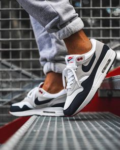 with the obsidian anniversaries on foot . Air Max Sneakers, Shoes Sneakers, Air Max One, Nike Sportswear, Nike Air Max, Shop Now, Kicks, How To Wear, Shopping