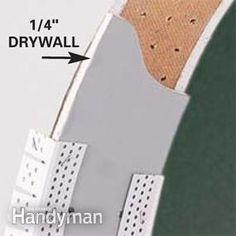 Building a drywall arch