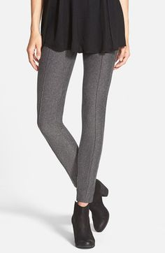 Free shipping and returns on Hue Tweed Leggings at Nordstrom.com. A classic stretch tweed lends a polished finish to comfy leggings sewn with a wide stretch waistband. Pintuck detailing down the front lengthens the line of the leg, furthering the flattering fit.