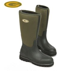 Grubs Hunt 5.0 Wellington Boots in Moss Green have unique INSU-FOAM ULTRA and 5.0 thermal technology.