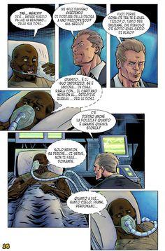 Icon 1 e la Squadra Alpha, il numero 5 - L'Antro Atomico del Dr. Manhattan