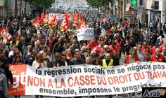 Thousands Protest in Paris as Senate Approves…: Protesters were gathering in Paris as France's Senate was expected to vote Tuesday on…
