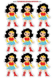 Wonder Woman Birthday, Wonder Woman Party, Wonder Woman Logo, Superhero Kids, Superhero Party, Birthday Party At Home, Boy Birthday, Daisy Party, Paper Cactus