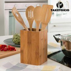 Utensilios de Cocina de Bambú TakeTokio (5 piezas) - NASHOOP