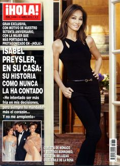 ¡HOLA! Nº 3636 09/04/14 #revistahola #hola #revistas #revista #magazine