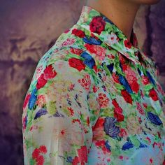 Floral ombré  LoLoBu - Fashion, Style Ideas and Inspiration, Bloggers Style