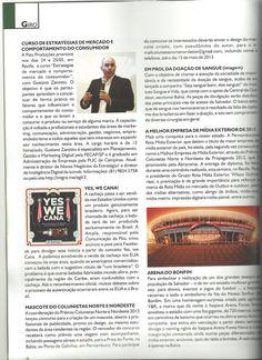 Curso Estratégias de Mercado e Comportamento do Consumidor com Gustavo Zanotto realizado em Recife foi  destaque na Revista Pronews.