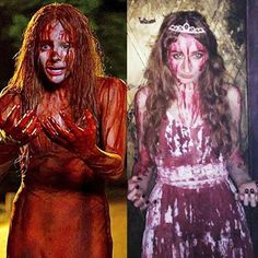 #carrie #carriewhite #halloween #cosplay #fakeblood #prom #horror  #horrormovie #creepy #smile #metalparty #deadparty #halloweenmakeup #halloweenparty #halloweenart #halloweencosplay #halloween2014 #halloweencostume #halloweenidea #carriecosplay #scary #costume #party #celebrate  #happy #girl #art #blood 🐷 #lovely #boo 🎃👻 !