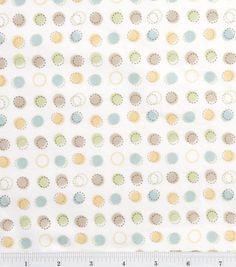 Nursery Flannel Fabric 42 Oh Baby Sch Dot